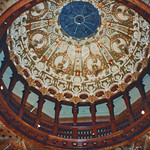 St Augustine  Florida - Ponce de Leon Hotel - Flagler College - Interior Dome thumbnail