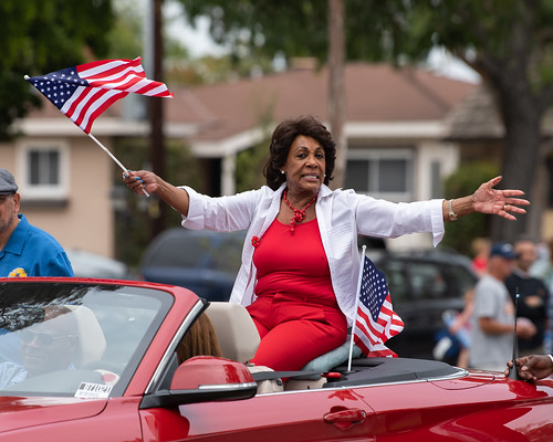 U.S. Congresswoman Maxine Waters by mark6mauno, on Flickr