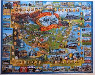 Historic American Railways, White Mountain, 1000 pieces