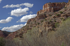 Verde Canyon, AZ 22 (Largeguy1) Tags: approved verdecanyon az clouds blue sky landscape canon 5d mark ii