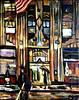 Deco on Lex (The Big Jiggety) Tags: architecture night artdeco oil canvas toile huile oleo lienzo dramatic noir nuit notte nacht noche flag tiffany starspangledbanner art arte kunst gebuilding nyc newyork newyorkcity usa america