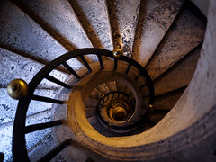 Rome 2018 Spiral staircase by Bernini (Scorpion-66) Tags: colosseum rome artcity olympusem5markii olympuszuiko1240 colors italy