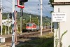 Crossing the tracks is forbidden (Nodding Pig) Tags: pörtschachamwörthersee railway station train kärnten carinthia austria österreich class1142 electric locomotive 1142632 öbb österreichischebundesbahnen austrianfederalrailways levelcrossing 201709088037101