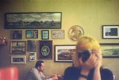 Coffee // 35mm // Selfie (larieatsrainbow) Tags: analog analogic mirage k2000 photography photo film 35mm kodak colorplus