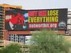 """Buy Sex, Lose Everything"" City Billboard, Phoenix, AZ (classic_film) Tags: phoenix sign signage southwest southwestern street urban arizona maricopacounty city town época usa unitedstates schild teken signo signe skylt skilt seña segno american america road sex letrero"
