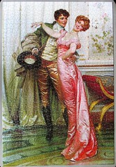 The Embrace (pefkosmad) Tags: jigsaw puzzle hobby leisure pastime used secondhand vintage complete arrow