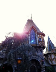 Post-Modern Gothic. (thnewblack) Tags: lg v30 aicam disneyland california snowwhite outdoors bright sunflare android smartphone hdr 16mp f16 snapseed