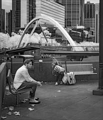 melbourne-1697-ps-w (pw-pix) Tags: seats bin ashtray walls leaves pole light man woman boy girl sitting seated river water trees buildings bridge ponyfishisland autumn warm warmwind people walking lines windows offices shops hotel casino bw blackandwhite monochrome sonya7 irconvertedsonya7 850nminfrared ir infrared yarrariver cbd melbourne victoria australia peterwilliams pwpix wwwpwpixstudio pwpixstudio