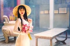 Beautiful vietnamese woman in Ao Dai white-traditional dress of vietnam, Ho Chi Minh city Vietnam (Patrick Foto ;)) Tags: aodai hochiminh asia asian attractive background beautiful beauty charming china chinese closeup cute dress face fashion female girl hair lady lifestyle lovely model oriental people person portrait pose pretty red sitting standing temple tourism traditional travel vietnam vietnamese white woman young hochiminhcity hồchíminh vn