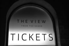 London_View_from_the_Shard_bw (frankpro) Tags: dark dunkel tickets light licht white black schwarzweis bw shard london england