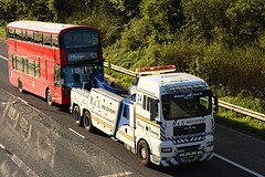 School's Out (ekawrecker) Tags: bus delivery wright ballymena new go ahead mitcham merton garage m40 hardshoulder rescue defect stokenchurch cutting streetdeck microhybrid