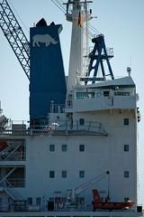 """Blue Master II"" von MACS Shipping im Dock (hu.roescheisen) Tags: hamburg elbe hafen blohmvoss werft dock11 macs macsshipping bluemasterii"