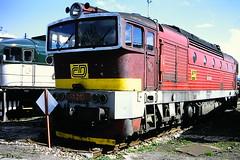 CD 753265-8 (bobbyblack51) Tags: cd class 753 ckd k12v 230dr bobo diesel locomotive 7532658 dkv plzen 1999