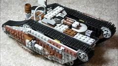 Steampunk: Mk. I - LXXIV (Ɍaillery) Tags: lego steam steampunk slideshow vehicles war military pain parade raillery