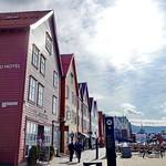 Bryggen Bergen, world cultural heritage site of UNESCO. thumbnail