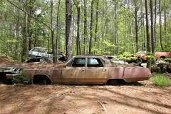 IMG_5768 (mookie427) Tags: urbex urban explore exploration explorers exploring ue derelict abandoned decay decayed ruin ruined car graveyard scrapyard old junkyard rusty rusted classic cars city georgia usa
