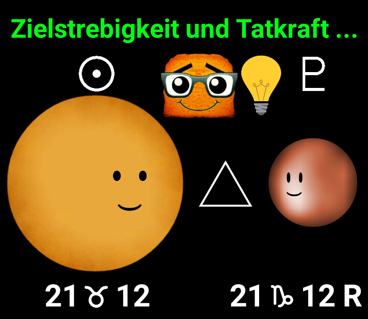 Sonne Trigon Pluto