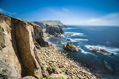 Lands End (Neilpl) Tags: cornwall uk england visitengland coast landscape cliffs sea ocean sky clouds nd sunny sunshine beautiful naturalbeauty rocks rocky walks sony zeiss a7rii 21mm loxia