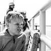 Impressed by Neeltje Jans (Dannis van der Heiden) Tags: boat railing boy woman oosterschelde sunglasses man licht lamp vest d750 christiaanb neeltjejans nikond750 tamron1750mmf28 netherlands monochrome blackwhite persona portrait freckles