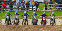 The Gate Dropped (John Kocijanski) Tags: people motorcycle motocross dirtbike vehicles canon70300mmllens canon7d race sport