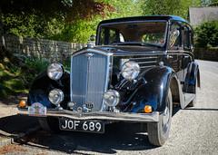 Rosedale Motoring Exotica LXIX- Wolseley 14 HP Saloon (Hector Patrick) Tags: flickrelite fujifilmxpro2 fujinonxf1855rlmois lightroom614 northyorkshire proneghi rosedaleabbey yorkshire cars wolseley classic car vintage sunny sunlight fuji auto 14