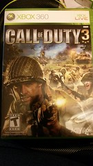 Call of Duty 3 - Xbox 360 (Adventurer Dustin Holmes) Tags: activision gamecase 3 three callofduty videogame xbox360 xbox xboxlive military war combat action