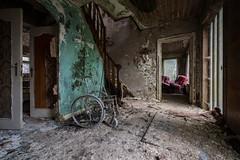 Mold house (the_bestiole) Tags: urbex exlporation urbaine urban decay abandoned lost place friche forgotten old lieux oubliés desaffecté abandonné ancien