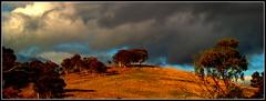 Stormy sunset (bushman58929) Tags: panorama bushman58929 australia travel olympus image digital country clouds storm