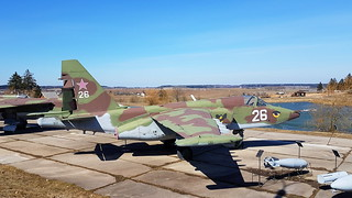 Sukhoi Su.25 c/n 25508108085 Belarus Air Force code 26 white