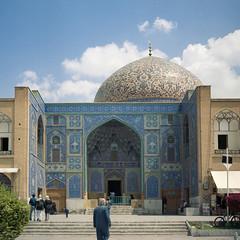 Lotfullah (martin.nissen) Tags: mosque iran esfahan isfahan film portra 400 yashica