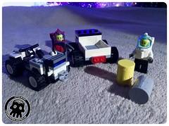 48-15 Loading Up (captainmutant) Tags: afol classic space lego ideas legospace legography photography minifig minifigs minifigure minifigures moc sciencefiction science fiction scifi exploration brickography toy custom