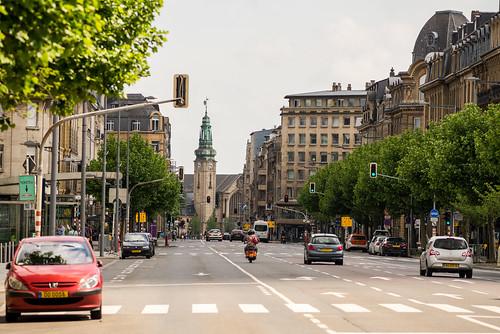 Luxembourg. Avenue de La Gare