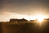 Another sunset? rly...? (Benjamin Rast) Tags: canon eos 70d sunset sun evening wheat field helios 55mm