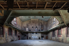 Peek a boo room (_soliveyourlife_) Tags: college abandoned abandonedplaces decay explore sony urbanexploring