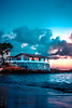 (leAlissu) Tags: bluesea salvador itacaré bahia sea mar azul por do sol sunset água oceano barco boat brasil