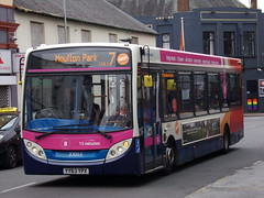 Stagecoach Midlands ADL Enviro 200 37055 YY63 YPX (Alex S. Transport Photography) Tags: bus outdoor road vehicle stagecoach stagecoachmidlandred stagecoachmidlands unusual off route route8branding route7 adlenviro200 enviro200 e200 adldartslf4 37055 yy63ypx
