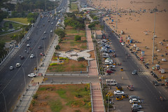 Chennai Beach Road (Raghav Prasanna) Tags: beachroad chennai mychennai ilovechennai lighthousechennai marinabeachroad mycitychennai triplicane