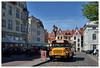 Hanseatic city Wismar 2 (mechanicalArts) Tags: wismar us schoolbus hansestadt hanseatic city tour innenstadt