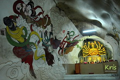 Cave Temple Perak Tong in Ipoh (Malaysia) ( kris ) Tags: cave temple peraktong ipoh malaysia complex grottoes decorated statues deities colorful murals buddhas saints calligraphic writings golden asia buddhist cavetemple perak perakcavetemple