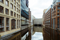 Canale Grande (Michael Moeller) Tags: architecture hamburg lowersaxony germany