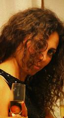 Cheers ! (alestaleiro) Tags: portrait retrato woman mujer eliana glass wine alestaleiro