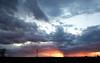 Plume of Fire ··· Оперение пламени (— levelost —) Tags: sky evening horizon clouds вечер горизонт закат небо облака солнце туча