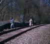 Abandoned rail line 7 (stevensiegel260) Tags: railroad railroadtrack boontonline newjersey forest woods pedestrian