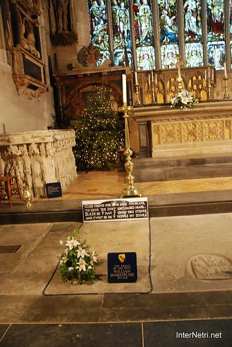 Стретфорд-на-Ейвоні Могила Шекспіра InterNetri Велика Британія 2011 094