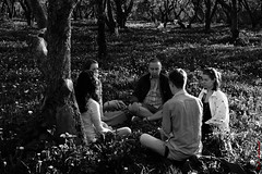 Meditation 2 (alexey & kuzma) Tags: коломенское meditation kolomenskoye fujifilm xt20 monochrome people street park fujilove