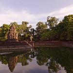 Neak Pean Temple and reflection thumbnail