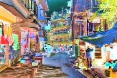 India - West Bengal - Ghum - Streetlife - 1bb (asienman) Tags: india westbengal ghum streetlife asienmanphotography asienmanphotoart asienmanpaintography
