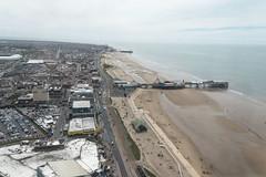 Blackpool from the top of the tower (newpeter) Tags: blackpool northwest england uk coast sea sand goldenmile tower blackpooltower madametussauds waxworks illuminasia ballroom