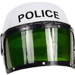 Police Helmet (SAltysanta) Tags: visor police helmet white protection