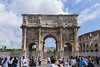 The Arch of Constantine with Tourists (dcnelson1898) Tags: rome italy city capital urban travel vacation romanempire forum arch constantine arcofconstantine triumphalarch nikond810